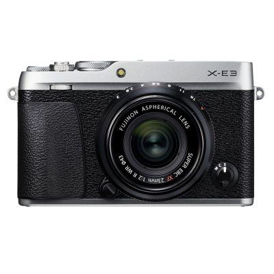 Fotocamera Fuji Fujifilm X-E3 Kit obiettivo 23mm f2 Argento XE-3 XE3