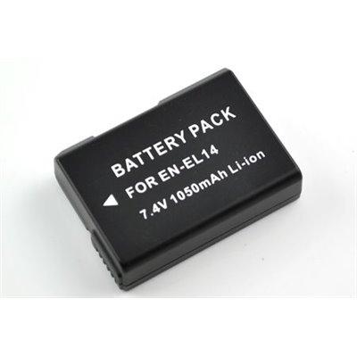 Batteria Nikon EN-El14 EN El14 ENEl14 compatibile SOLO per P7000 P7100 (no altre nikon)