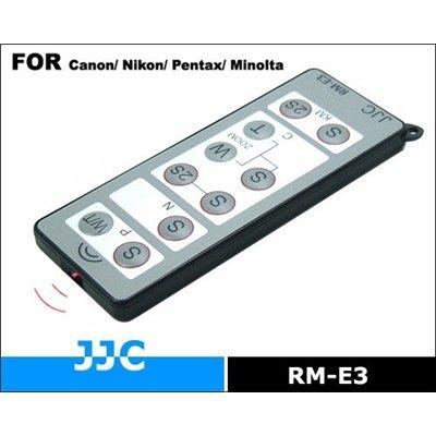 JJC RM-E3 Wireless Controllo Remoto per Nikon D7000 D3000 D5000 D5100 D90 Canon 600D 5D 7D 550D 60D RC-1