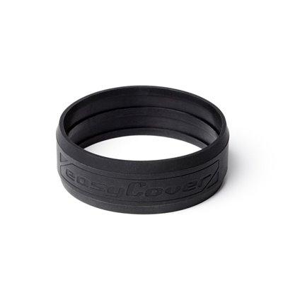 EasyCover anello paraurti protettivo in silicone lens rim per obiettivo 72mm nero
