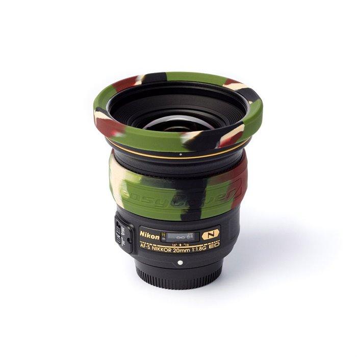 EasyCover lens rim anello paraurti protettivo in silicone per obiettivo 67mm camouflage
