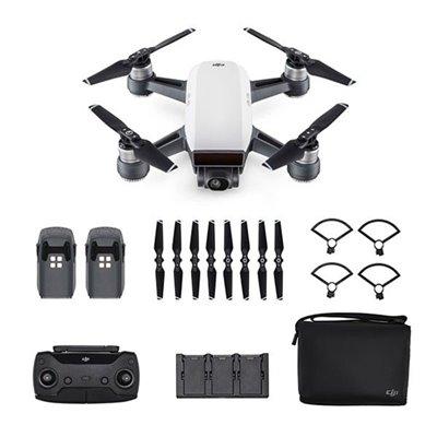 DJI Spark Fly More Combo Mini Drone Quadricottero Bianco PRONTA CONSEGNA