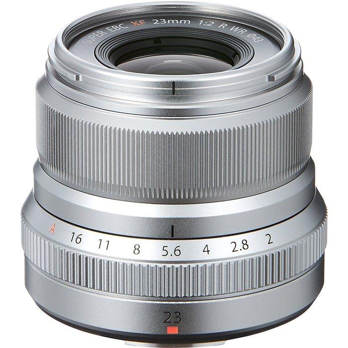 Obiettivo FUJINON XF 23mm F2 R WR Silver per Fuji Fujifilm