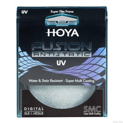 HOYA Filtro Fusion UV HOY UVF46 Diametro 46mm Garanzia Rinowa 4 anni