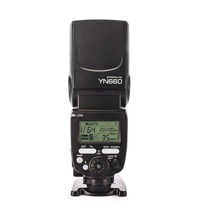 YONGNUO YN660 Flash Speedlite manuale non TTL wireless per Canon e Nikon