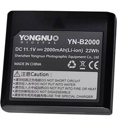 Yongnuo YN-B2000 Batteria a litio per flash YN686EX-RT