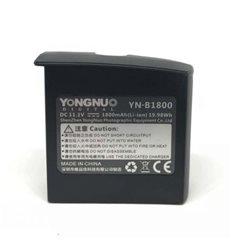 YONGNUO YN-B1800 batteria a litio per flash YN 860 Li