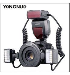 YONGNUO YN-24EX TTL dual flash macro con anello circolare per CANON