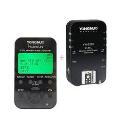 Yongnuo YN622C-KIT per Canon trasmettitore e ricevitore TTL Trigger Flash Wireless con controller