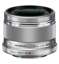 Obiettivo Olympus M.ZUIKO DIGITAL 25mm F1.8 Silver PRONTA CONSEGNA
