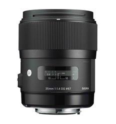 Obiettivo Sigma 35mm F1.4 DG HSM Art per Sony E-Mount