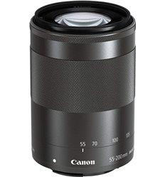 Obiettivo Canon EF-M 55-200mm f/4.5-6.3 IS STM Nero (bulk) per EOS M