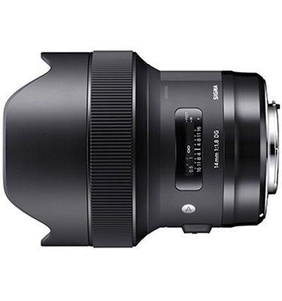 Obiettivo Sigma 14mm f/1.8 DG HSM Art per Sony E-Mount