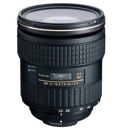 Obiettivo Tokina AT-X 24-70mm F2.8 PRO FX per Canon