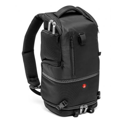 Manfrotto Borse Tracolla e zaino nero piccolo per laptop, reflex, obiettivi MB MA-BP-TS