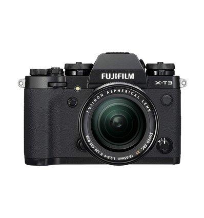 Fotocamera Fuji Fujifilm X-T3 Kit 18-55mm F2.8-4 R LM OIS Nero