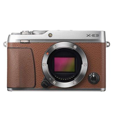 Fotocamera Fuji Fujifilm X-E3 body solo corpo marrone