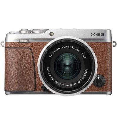 Fotocamera Fuji Fujifilm X-E3 Kit 15-45mm F3.5-5.6 OIS PZ Marrone