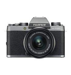 Fotocamera Fuji Fujifilm X-T100 Kit 15-45mm F3.5-5.6 OIS PZ Argento Silver