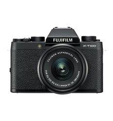 Fotocamera Fuji Fujifilm X-T100 Kit 15-45mm F3.5-5.6 OIS PZ Nero