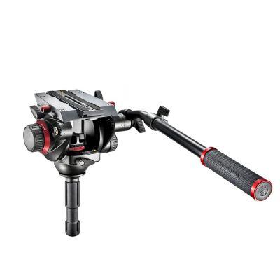 Manfrotto Video Testa video con semisfera 75mm, 1 leva telescopica 504HD
