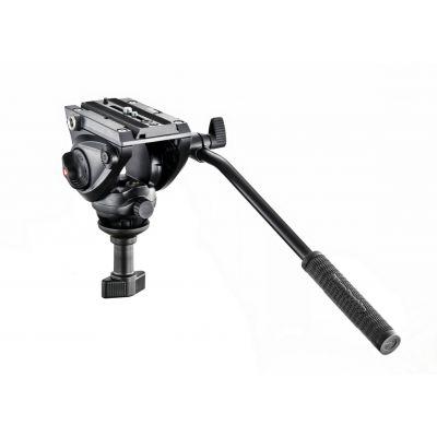 Manfrotto Video Testa video con semisfera da 60mm, 1 leva fissa MVH500A