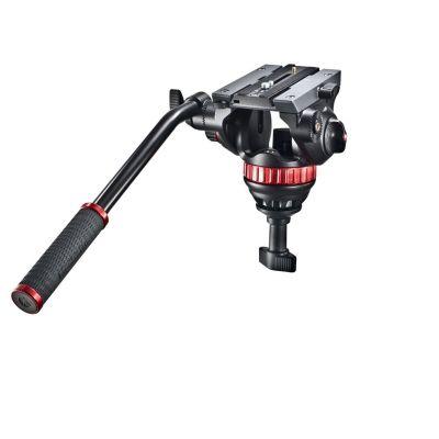 Manfrotto Video Testa video con semisfera da 75mm, 1 leva fissa MVH502A