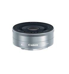 Obiettivo Canon EF-M 22mm f/2.0 STM Silver per EOS M