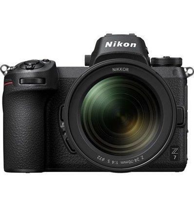 Fotocamera Nikon Z7 kit 24-70mm Z-Mount (no adattatore) [MENU ENG]