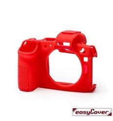 EasyCover custodia protettiva in silicone camera case per Canon EOS R rosso