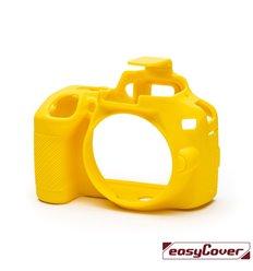 EasyCover custodia protettiva in silicone camera case per Nikon D3500 giallo
