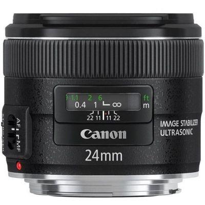 Obiettivo Canon EF 24mm f/2.8 f2.8 IS USM Lens