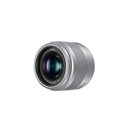 Obiettivo Panasonic Lumix G 25mm f/1.7 Asph Argento Silver H-H025