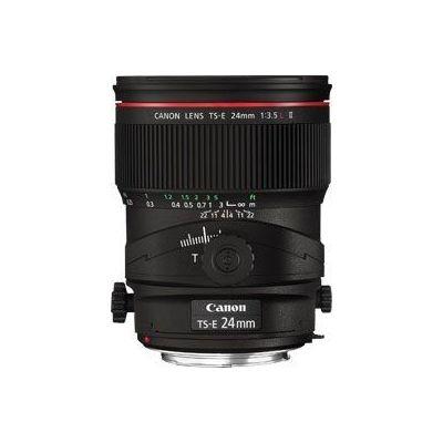 Obiettivo Canon TS-E 24mm f/3.5L II decentrabile