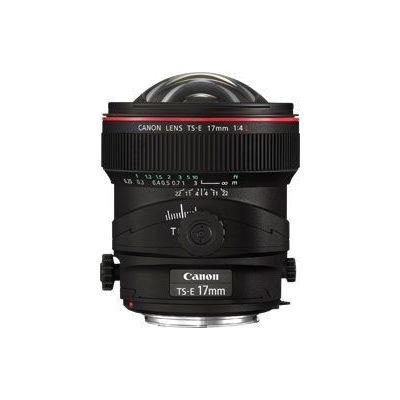 Obiettivo Canon TS-E 17mm f4L decentrabile