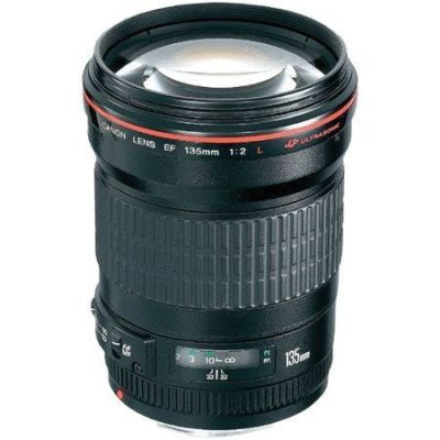 Obiettivo Canon EF 135mm USM 135 F/2 F2 L
