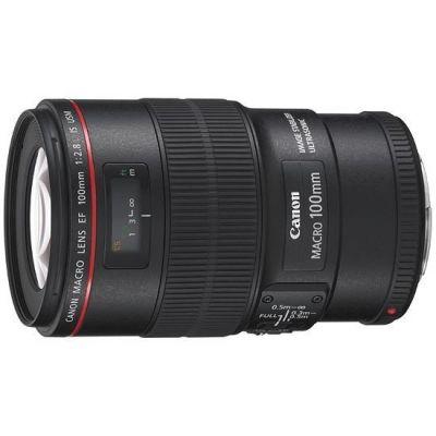 Obiettivo Canon EF 100mm F2.8L MACRO IS USM 100 mm