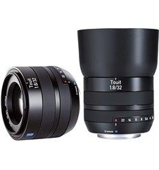 Obiettivo Carl Zeiss Touit 1.8/32mm Planar T* per Fujifilm X Mount