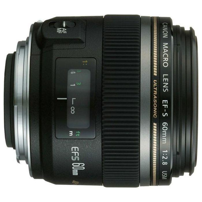 Obiettivo Canon EF-S 60 60mm MACRO f/2.8 USM 2.8