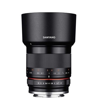 Obiettivo Samyang 35mm F1.2 ED AS UMC CS per Sony E