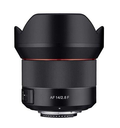 Obiettivo Samyang AF Autofocus 14mm F2.8 EF per Canon