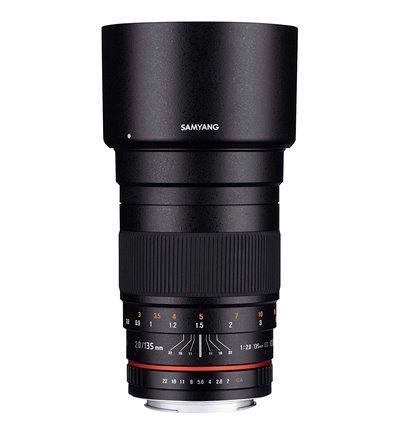Obiettivo Samyang 135mm f/2.0 ED UMC II per Nikon AE