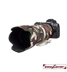 Easycover custodia in neoprene verde camo per obiettivo Canon EF 70-200mm f/2.8L IS II USM Lens Oak