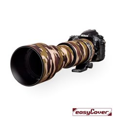 Easycover custodia in neoprene marrone camo per obiettivo Sigma 150-600mm Contemporary Lens Oak