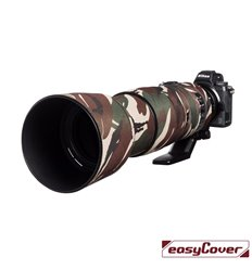 Easycover custodia in neoprene verde camo per obiettivo Nikon 200-500mm f/5.6 VR Lens Oak