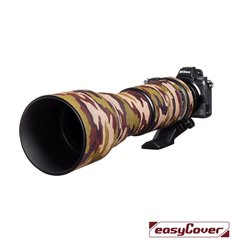 Easycover custodia in neoprene marrone camo per obiettivo Tamron 150-600mm G2 Lens Oak