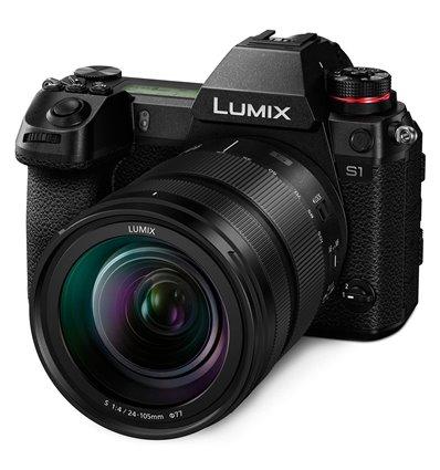 Panasonic Lumix – 24-105mm Kit DC-S1M F4 – Fotocamera (ENG MENU)