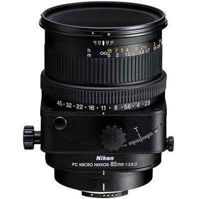 Obiettivo Nikon PC-E Micro 85mm f/2.8D ED 85 mm