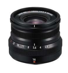 Obiettivo FUJINON XF 16mm F2.8 R WR per Fujifilm