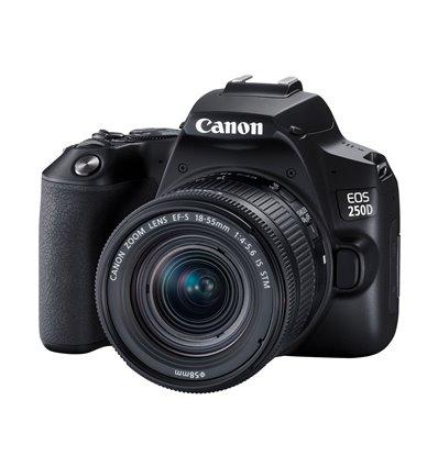 Canon EOS 250D – 18-55mm Kit STM Fotocamera